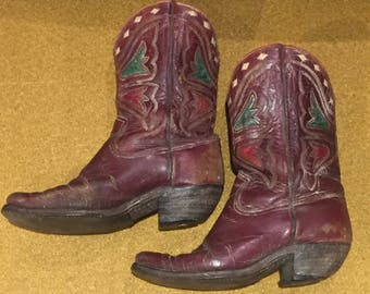 Vintage 1940s Acme Boot Western Boots