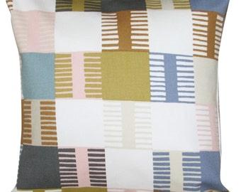 Scion Navajo Wabi Sabi Blush & Toffee Cushion Cover
