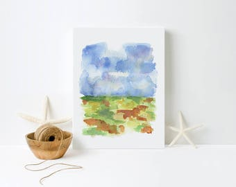 landscape 5 canvas print