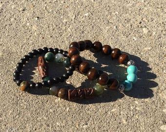 Earth Tone Bracelets