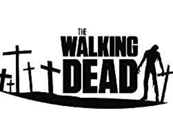 The Walking Dead Decal