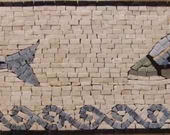 Nautical Mosaic Border