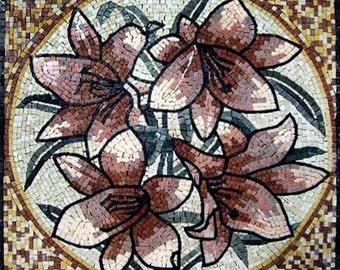 Accent Flower Mosaic Art-Foxglove