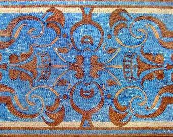 Rectangular Mosaic Rug - Zada II