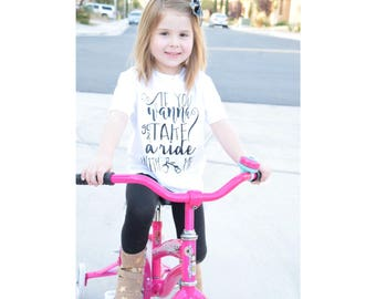 If You Wanna Go and Take a Ride With Me Tee // Kids Tee // Toddler Tee // Nelly // Nelly Lyrics Ride Wit Me  // Kids t-shirt