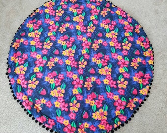 Round padded Play mats