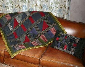 plaid - patchwork tweed -