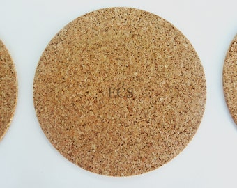"""Cork Disc 3"""" Diameter Pack of 20 Great for crafts, coaster bottoms, cupboard door and drawer bumpers, lamp bases and much more"""