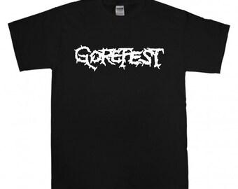Gorefest T-shirt New Black t shirt S M L XL XXL Death Metal Death n Roll Asphyx Pestilence