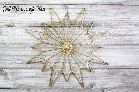 Metal Wall Decor Clearance : Clearance gold star flare wall decor gallery