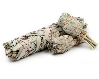 White Sage Smudge Stick - Californian