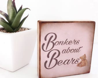 Bonkers about Bears...