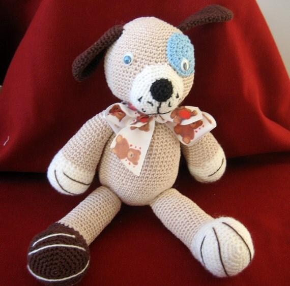 Amigurumi Care Instructions : Crochet Bear Amigurumi. Handmade Crochet Amigurumi Toy Doll.