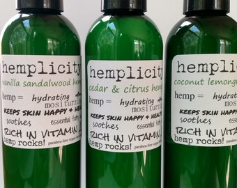 Hemplicity hemp lotion