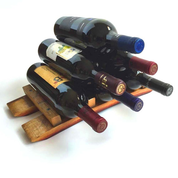 Wine Rack, Tabletop Wine Rack, Countertop Wine Rack, Small Wine Rack, Wine Bottle Rack, Valentines Gift