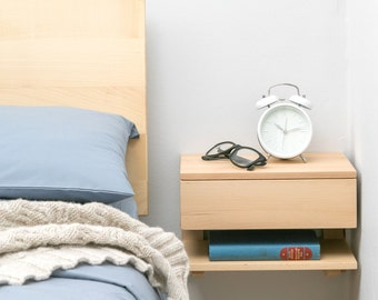 Awesome Floating Bedside Table Part 21