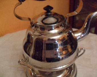 Teapot paraffin warmer Gebrüder Bing around 1900