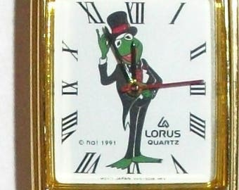 Retired Lorus Jim Henson LADIES Kermit the Frog Watch! New! No Longer Made!
