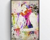 Janis Joplin Poster, Janis Joplin Print, Janis Joplin Art, Home Decor, Gift Idea