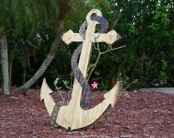 Anchor Wedding Guestbook Wood Guest book board. Rustic Wedding Decor. Wedding gift idea.