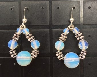 Opalite beads Earrings
