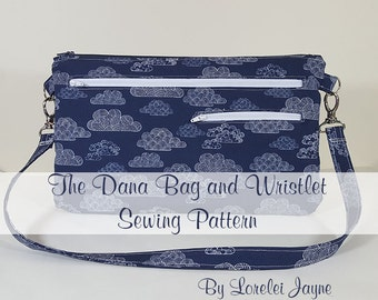 The Dana Bag and Wristlet PDF Sewing Pattern