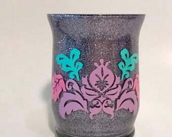 glitter makeup jars | etsy, Hause ideen