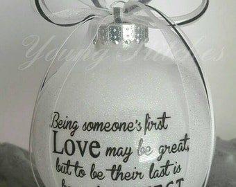 Marriage Proposal - Large Christmas Ornament