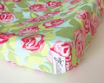 Tumble Rose | Changing Pad Cover