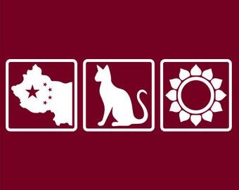 Grateful Dead China Cat Sunflower White Logo | Men's