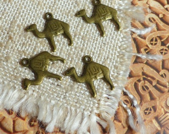 10pcs camel charm bronze Moroccan-oriental