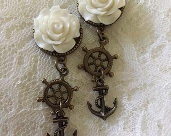 Nautical Bronze Charms Custom Plugs