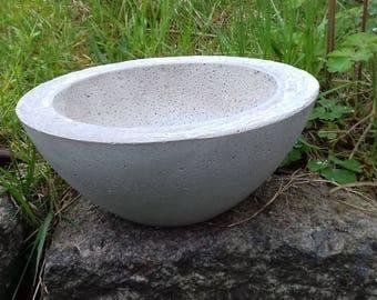 Concrete shell planting shell flower Bowl Ø25cm