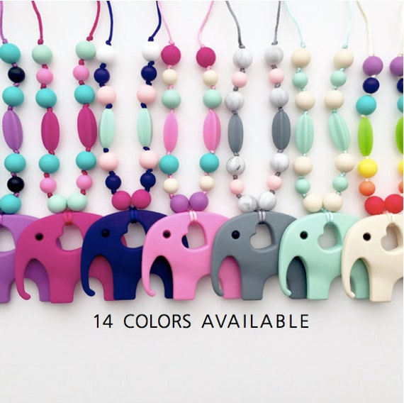 Silicone Teething Accessory - inspired by Tula Accessories - elephant | tula |  ergo | lillebaby | lenny lamb | baby shower gift