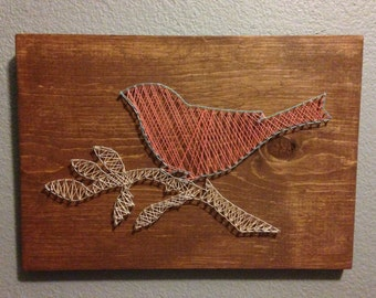 Bird String Art