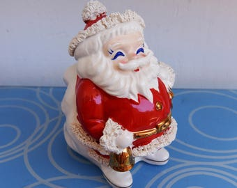 Vintage Christmas Santa Bank - Santa International - Japan
