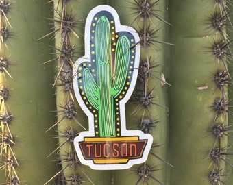 Tucson Sign Sticker