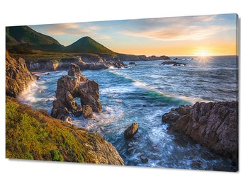 Large Big Sur Photography California Ocean Photo Oversized Home Decor Rocky Carmel Coast Photo Nautical Blue Ocean Print Monterey Print