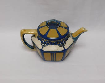 Small Teapot by Mettlach