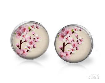 Earrings cherry 72