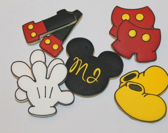 Mickey mouse cookies (12)