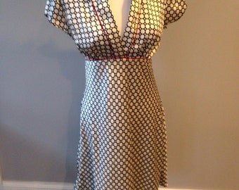 Vintage 90's dress inspired by the 40's size Large