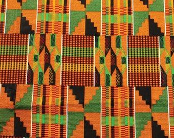 Kente Cloth Fabric Two Yards
