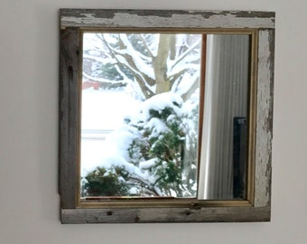 Barnwood mirrors