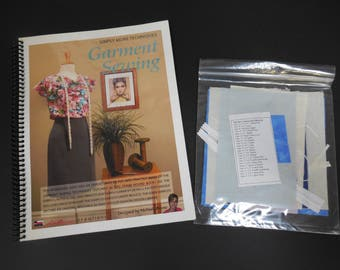 Garment Sewing Techniques Workbook with Kit