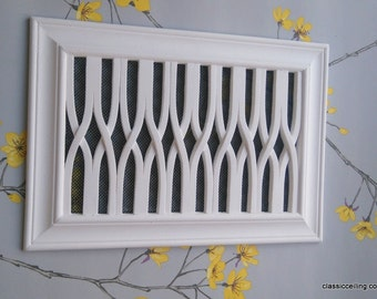 Victorian Plaster Air vent speaclists-Vent Cover - 304mm X 216mm X 15mm wi