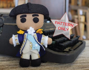 George Washington Hamilton Doll Pattern