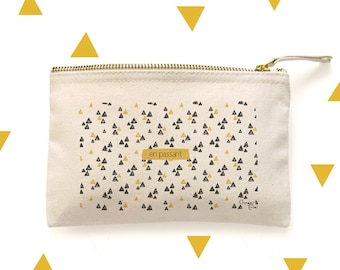 Kit 'By the way' / Push 'In passing' - cotton pouch