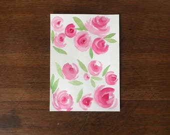 """5""""x7"""" Watercolor 