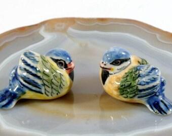 Titmouse  - handpainted porcelain figurine -  6247